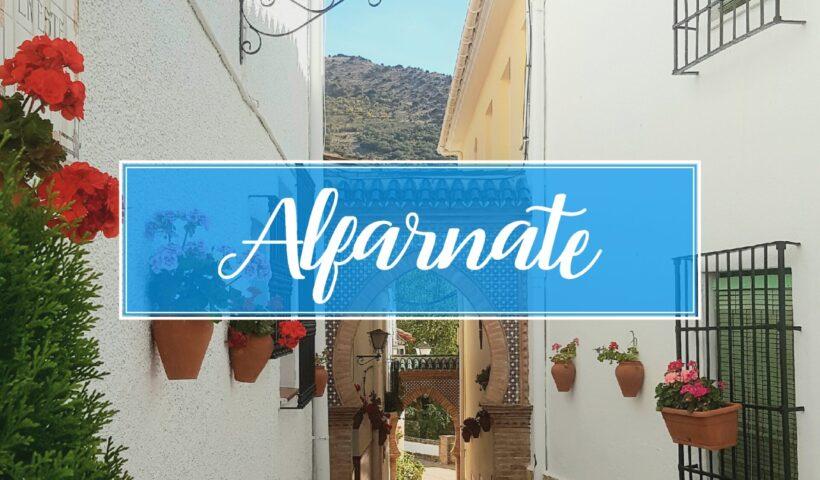 Alfarnate Village Town Malaga