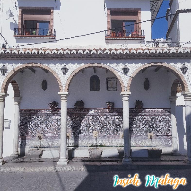 Fuente de los Cinco Caños Alcaucin Malaga