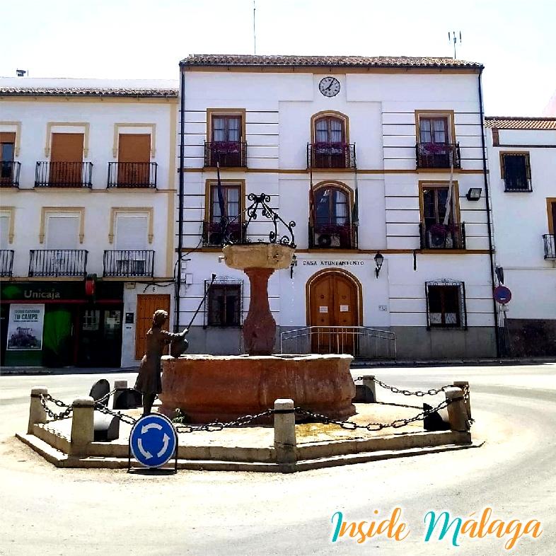 Fuente de la Placeta Alameda Malaga