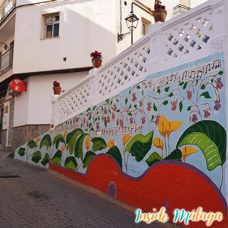 Arte en las calles de Tolox