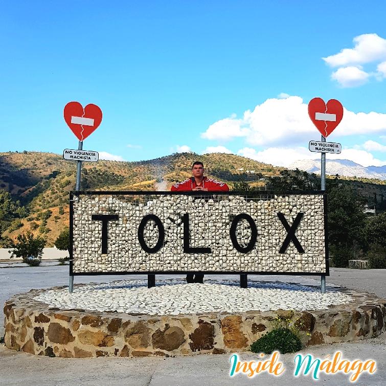 Entrée de la ville Tolox