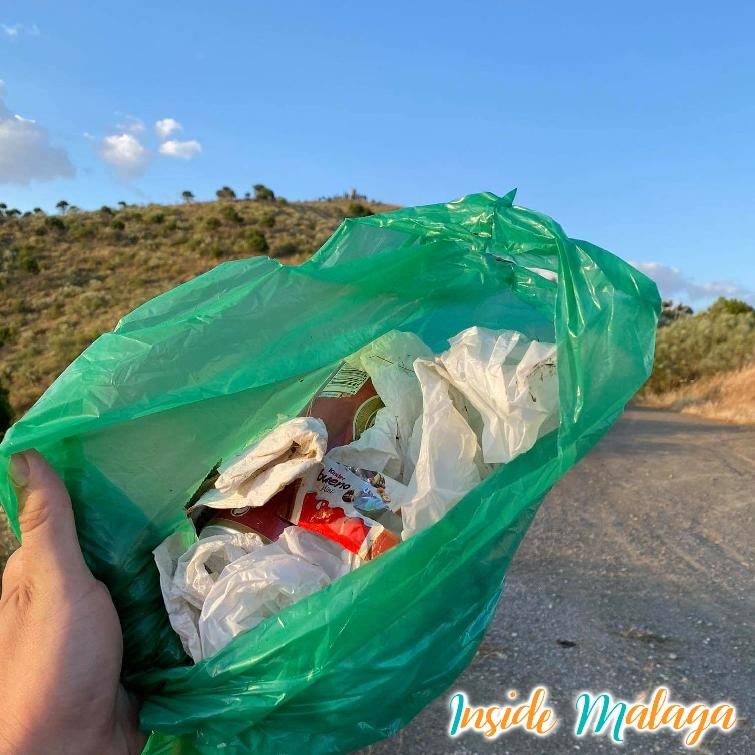 Recogida en basura en Casabermeja