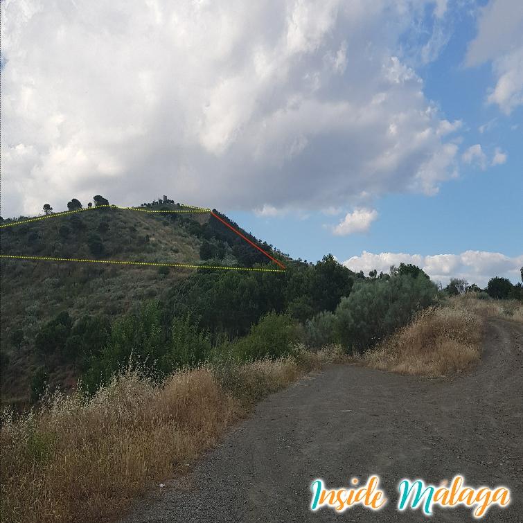 Las dos rutas hacia la Torre Zambra