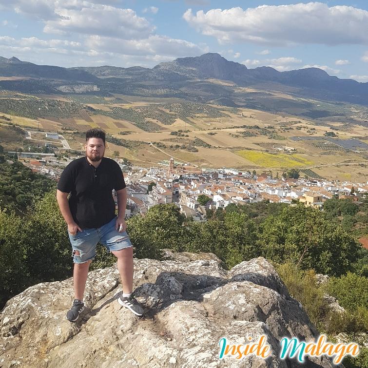 View Over Casabermeja Village Malaga