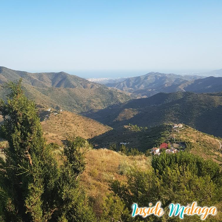 Vista sobre Málaga Ciudad desde la Torre Zambra