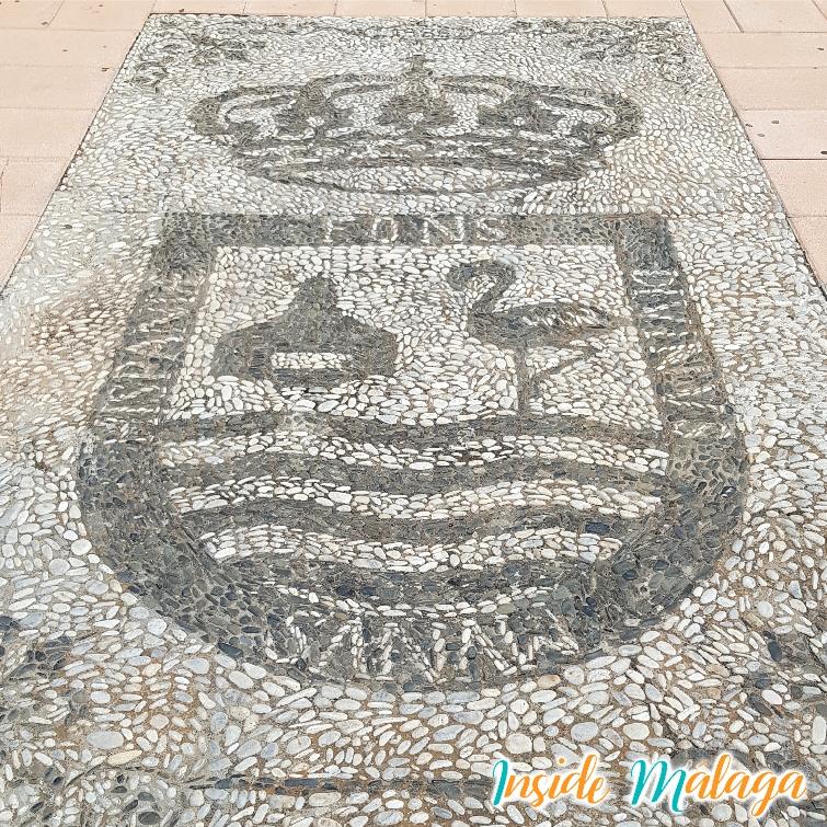 Mosaic Heraldry Shield Fuente de Piedra