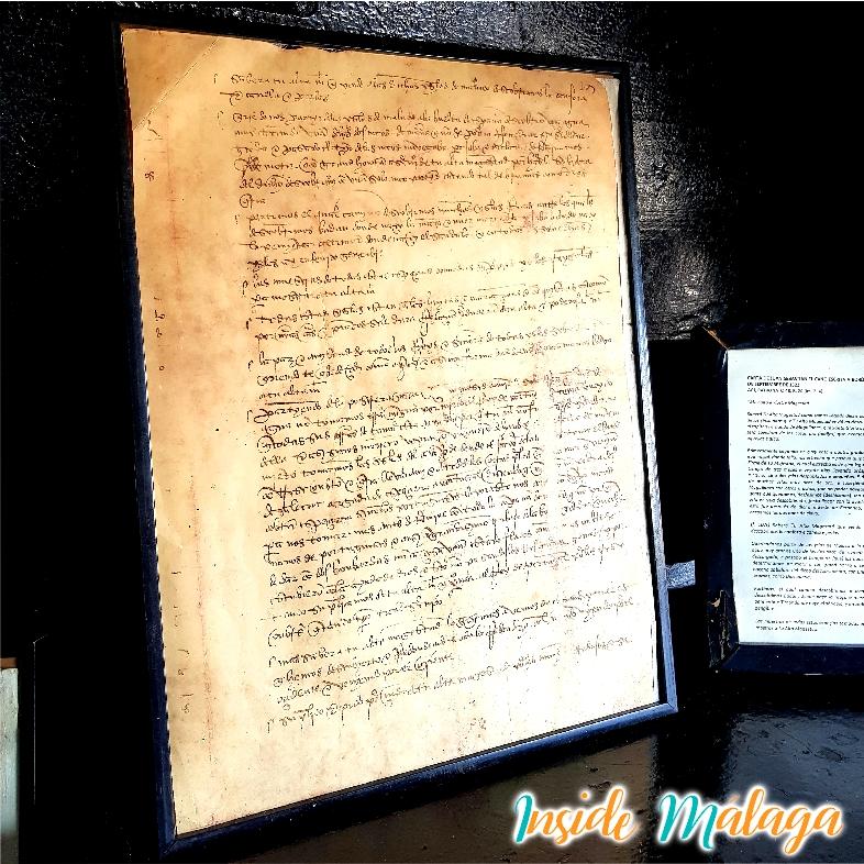 Lettre de Nao Victoria Juan Sebastian El Cano