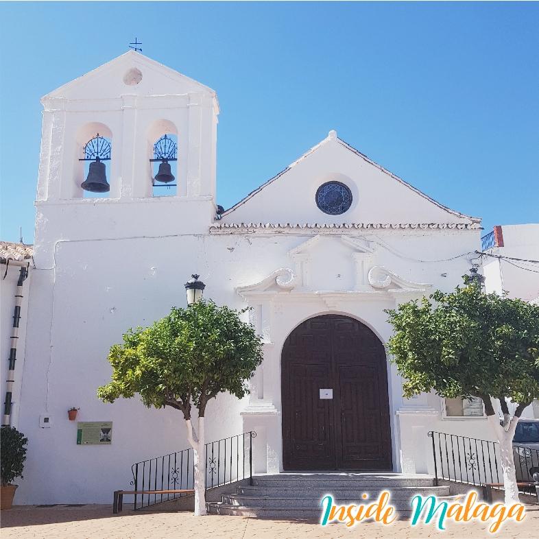 Church Nuestra Señora del Rosario Alcaucin Malaga
