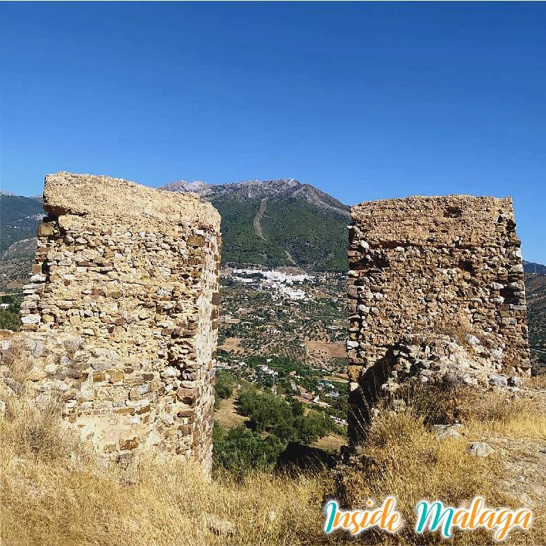 Ruines Chateau Zalia Alcaucin Malaga