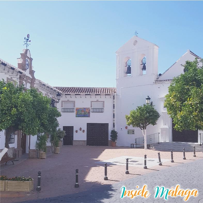 Kyrka Alcaucin Malaga