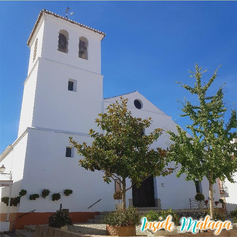 Eglise Parroquial de Santa Ana Alfarnate Malaga