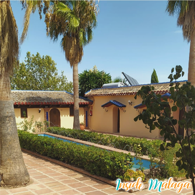 Hotel Hacienda Mendoza Binnenkoer Archidona