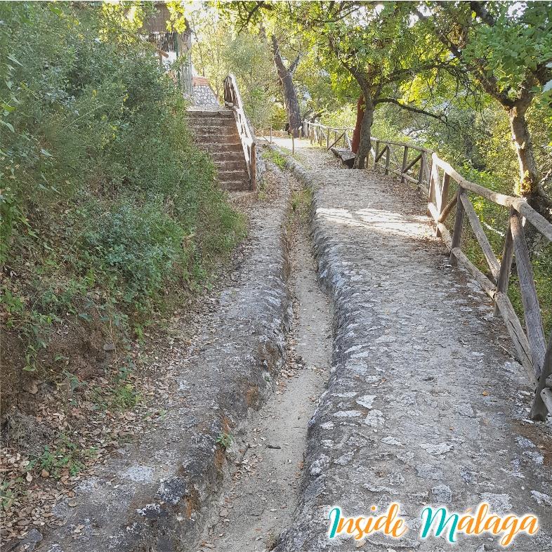 Arabische Irrigatie Sloten Istan Malaga