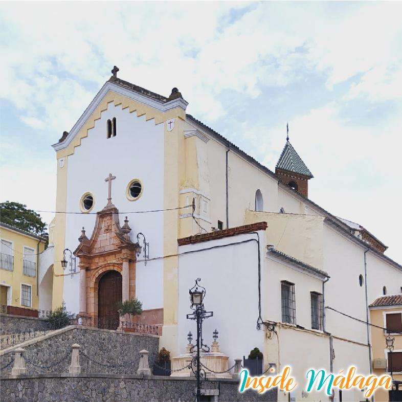 Kerk van Santa Ana Archidona Malaga