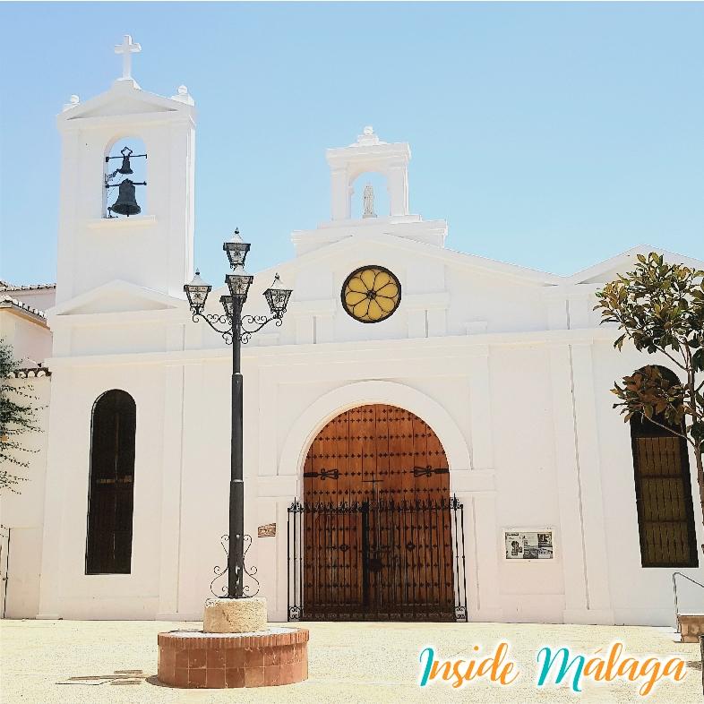 Kerk Virgen del Rosario Villanueva del Rosario Malaga