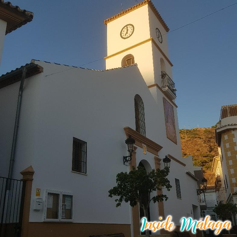 Kyrka Santa Ana Algarrobo Malaga
