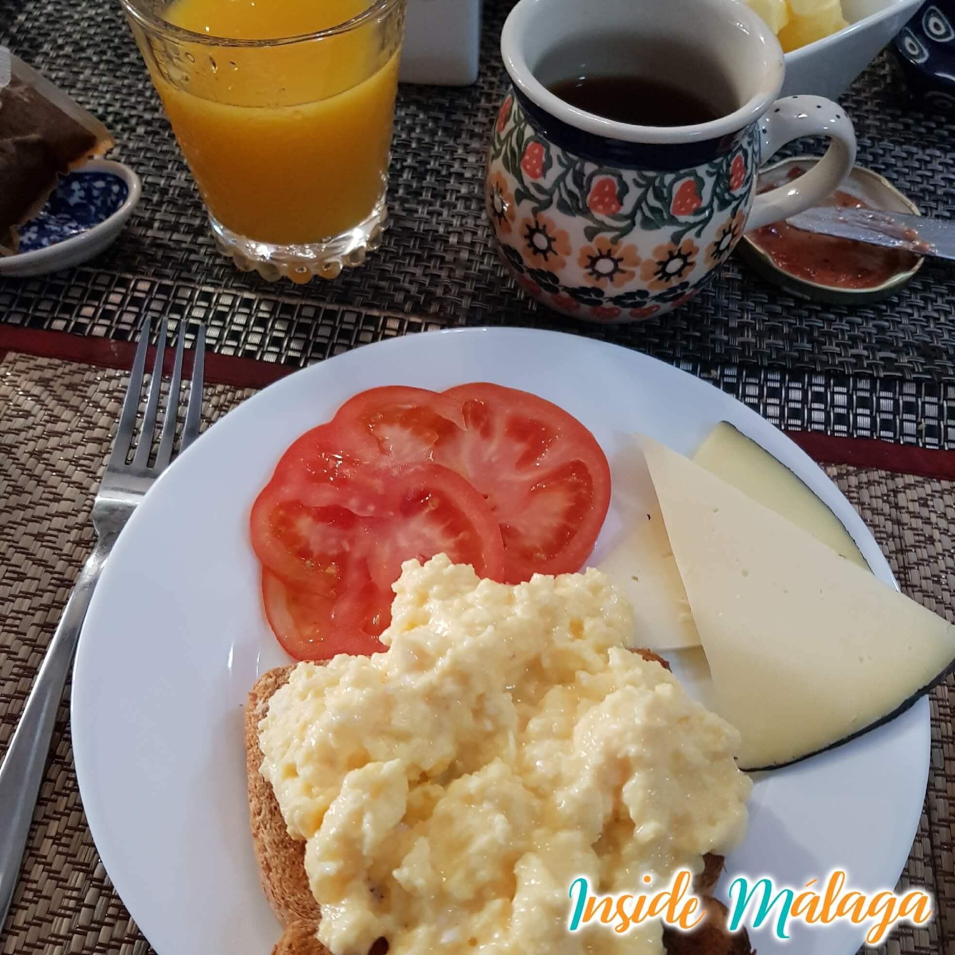 Casa Finola Desayuno Competa