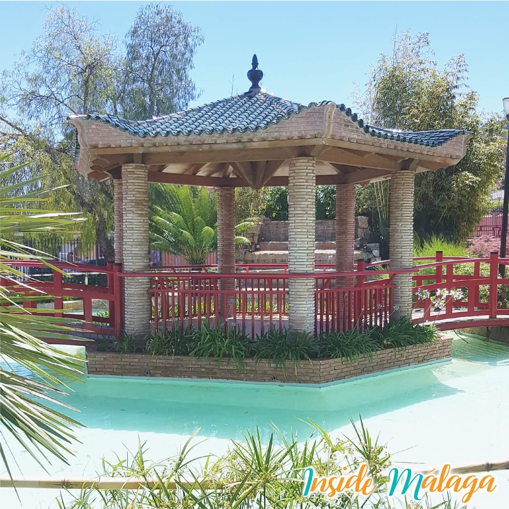 Jardin Asiatico Alhaurin de la Torre Pagoda