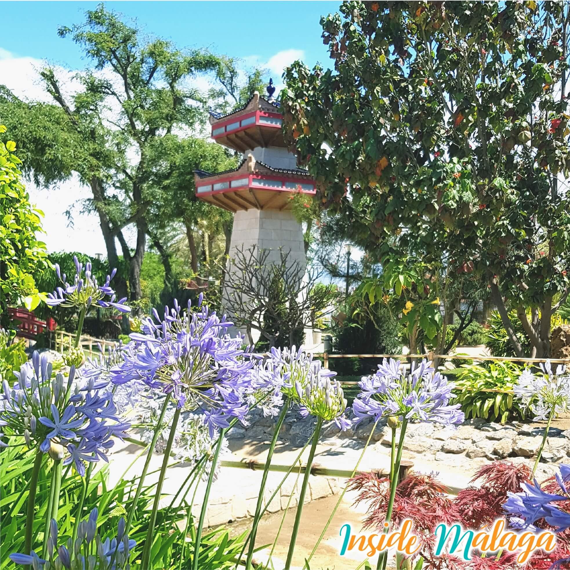 Väl älskad orientalisk trädgård
